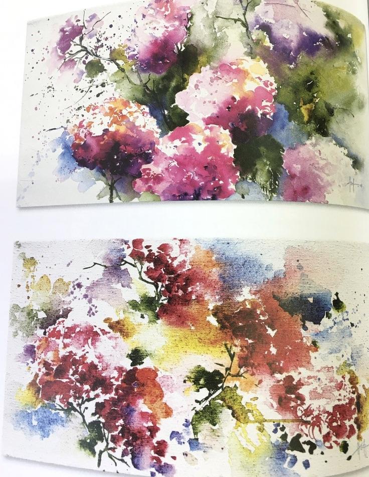 Blumen Aquarelle Ekkehard Hofmann