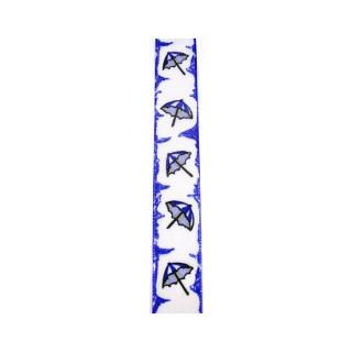 Drahtb. Regenschirm 25mm blau