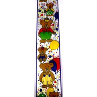 Ki-Taftband Teddybären 40 mm