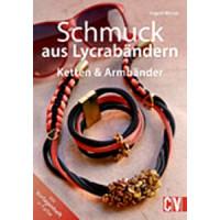 Schmuck aus Lycrabändern; Ketten & Armbänder