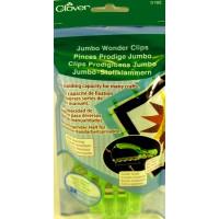 Jumbo Wonder Clips 24 Stck. Neon Green SB-Packg.