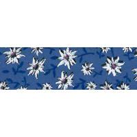 Schrägband Blumen 100% Co 20/10 mm