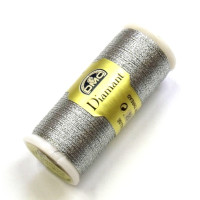 Diamand Metallicgarn 35m  silber