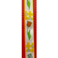 Band Tulpen 15 mm gelb