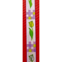 Band Tulpen 15 mm flieder