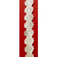 Band Florifere 15 mm creme