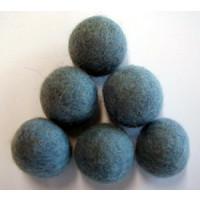 Filzkugel 20mm für Schmuckgestaltung hellblau