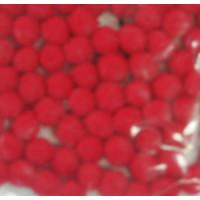 Pompons 7mm rot SB-Beutel 70 Stück