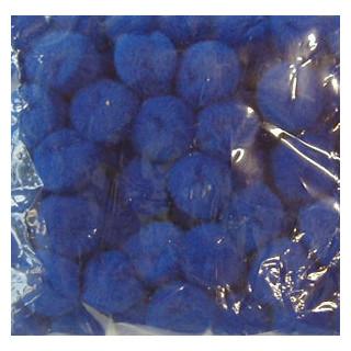 Pompons 15mm d.blau SB-Beutel 60 Stück