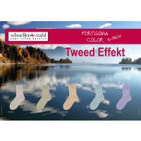 Fortissima color 6f. Tweed-Effekt