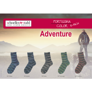 Fortissima Color Adventure 6 fach/150g/410m Expedition 168