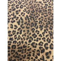Leopardmuster bedruckt querelastisch (Powerstretch)