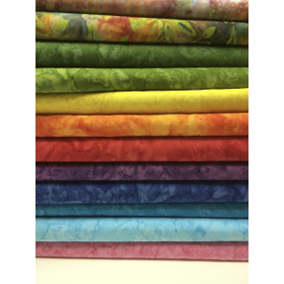 Batik Patchworkstoffe