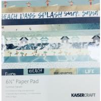 Scrapbooking Papier- Maritime Scap.Block Summer Splash