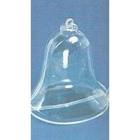 Plastik Glocke 2 tlg. 9 cm