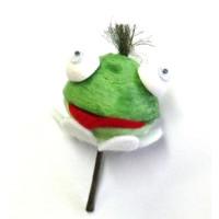 Figurenkopf Frosch ca. 3x3 cm