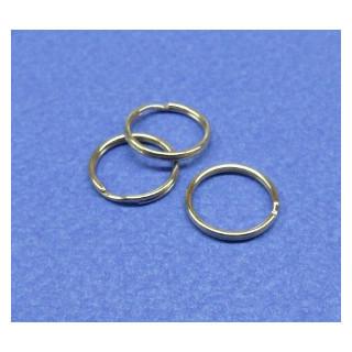 Schlüsselring 15 mm platin