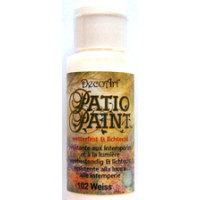 Patio Paint Acrylfarbe 59ml weiss