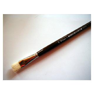 Acryl-u.Ölmalpinsel flach Nr. 16  lineo