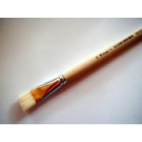 Acryl-u.Ölmalpinsel flach Nr. 18 lineo