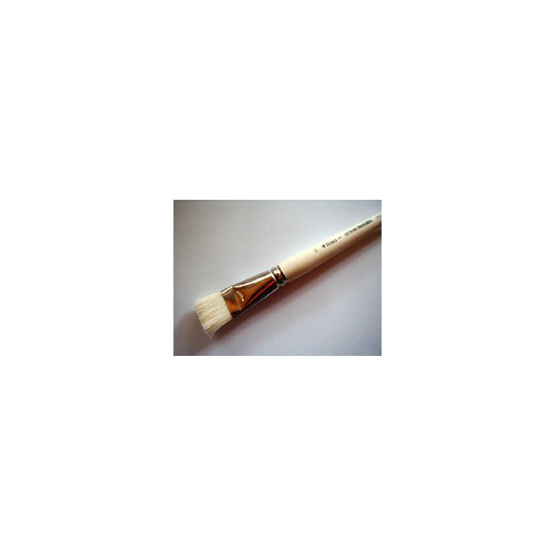 Hobbymalpinsel flach Nr. 24 lineo