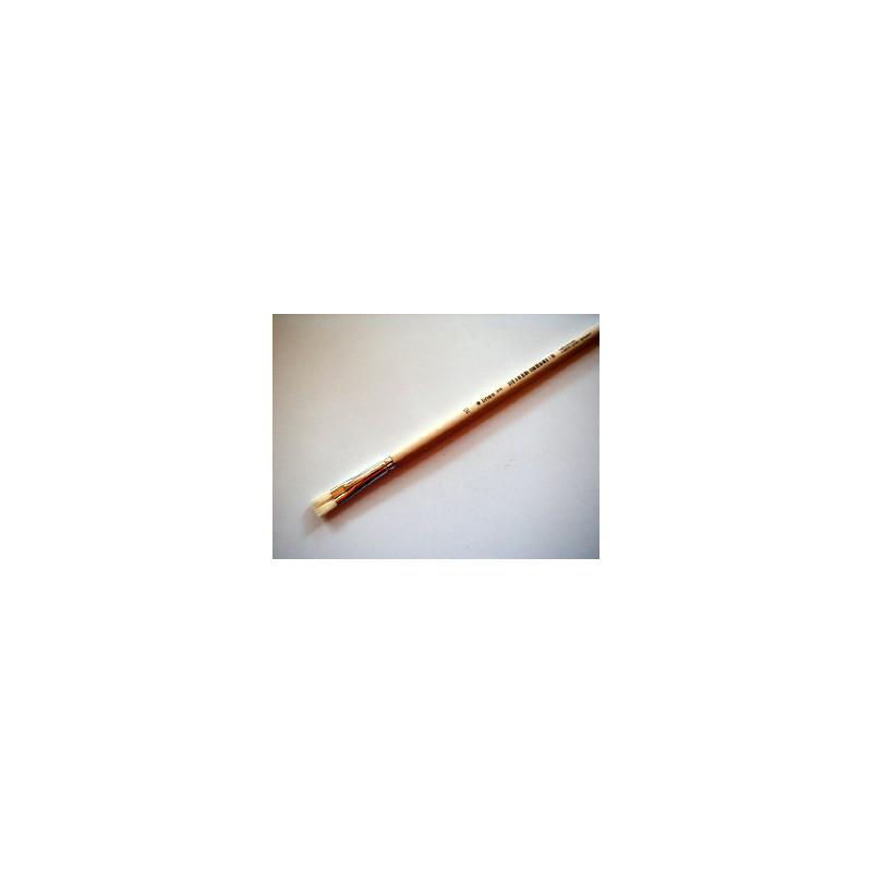 Acryl-u.Ölmalpinsel flach Nr. 10 lineo