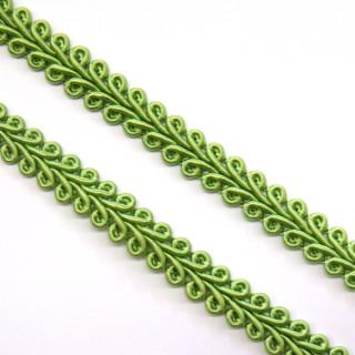 Schlingenborte 8 mm grün