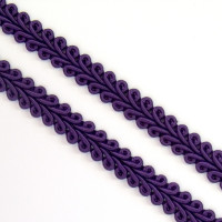 Schlingenborte 8 mm royal/lila
