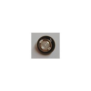 Bead Onyx (Achat gefärbt), Brasilien, ø ca. 15 mm, 1  Stck.