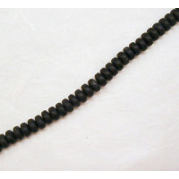 Onyx matt Linse hoch ca. 10mm Stück