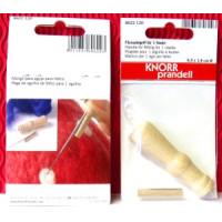 Filznadelgriff für 1 Nadel aus Holz