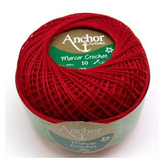 Mercer Crochet 10/20g fb. 0047 red