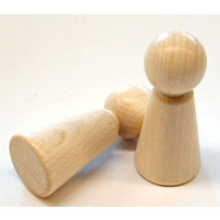 Holz-Figurenkegel  70mm