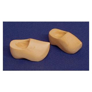 Holzschuhe 3 cm SB 1 Paar