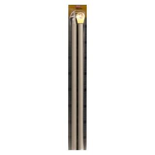 Stricknadel Nr. 10 Länge 35cm fb. grau PG R