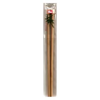 Stricknadel Nr. 8 Bambus 33cm lang PG Z