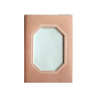 Kartenset Passepartout 1 Stck. rosa, Fenster