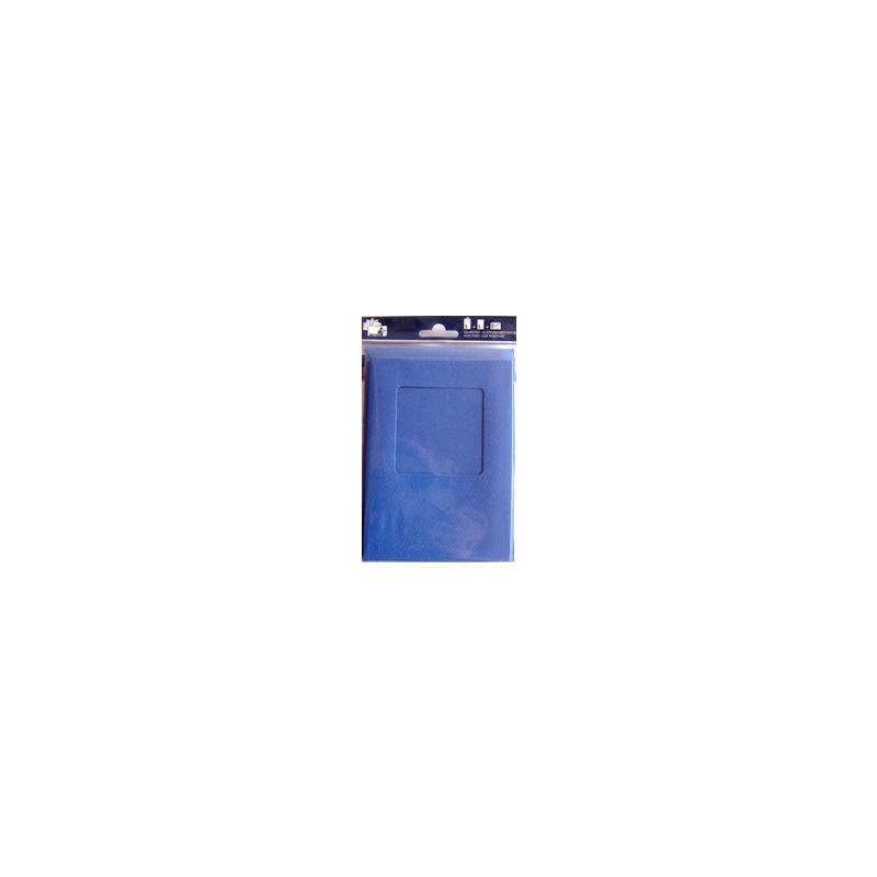 Kartenset Passepartout 5 Stck. blau, Fenster