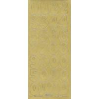 Zahlen in gold 3cm, Klebeschrift