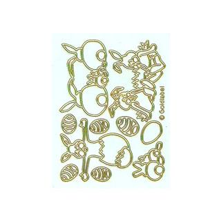 Ostermotive weiss/gold