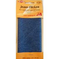 Kleiber Jeans-Flicken 100% Cotton 17x15cm mittelblau
