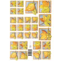 3D Bogen Le Suh A4, Herbstlaub