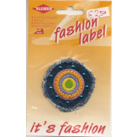Kleiber Jeans-fashion label Kreis 1 Stück D= 5,5 cm