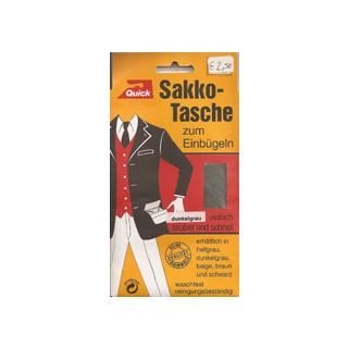 Kleiber Sakko-Tasche 1 Stück dunkelgrau