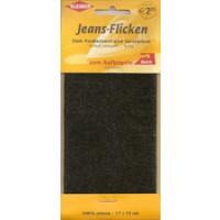 Kleiber Jeans-Flicken 100% Cotton 17x15cm schwarz