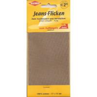 Kleiber Jeans-Flicken 100% Cotton 17x15cm beige