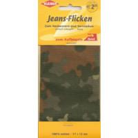 Kleiber Jeans-Flicken 100% Cotton 17x15cm military