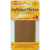 Kleiber Aufbügel-Flicken dkl.braun 30x6 cm