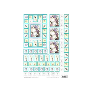 3D Bogen A4, Muscheln