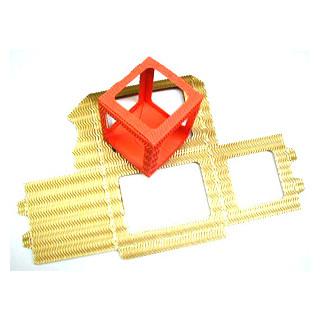 Laternen - Zuschnitte groß  Br. H.13,5cm x18,5cm  gold